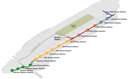 Nyc Second Avenue Subway Map.2nd Avenue Subway Congresswoman Carolyn Maloney