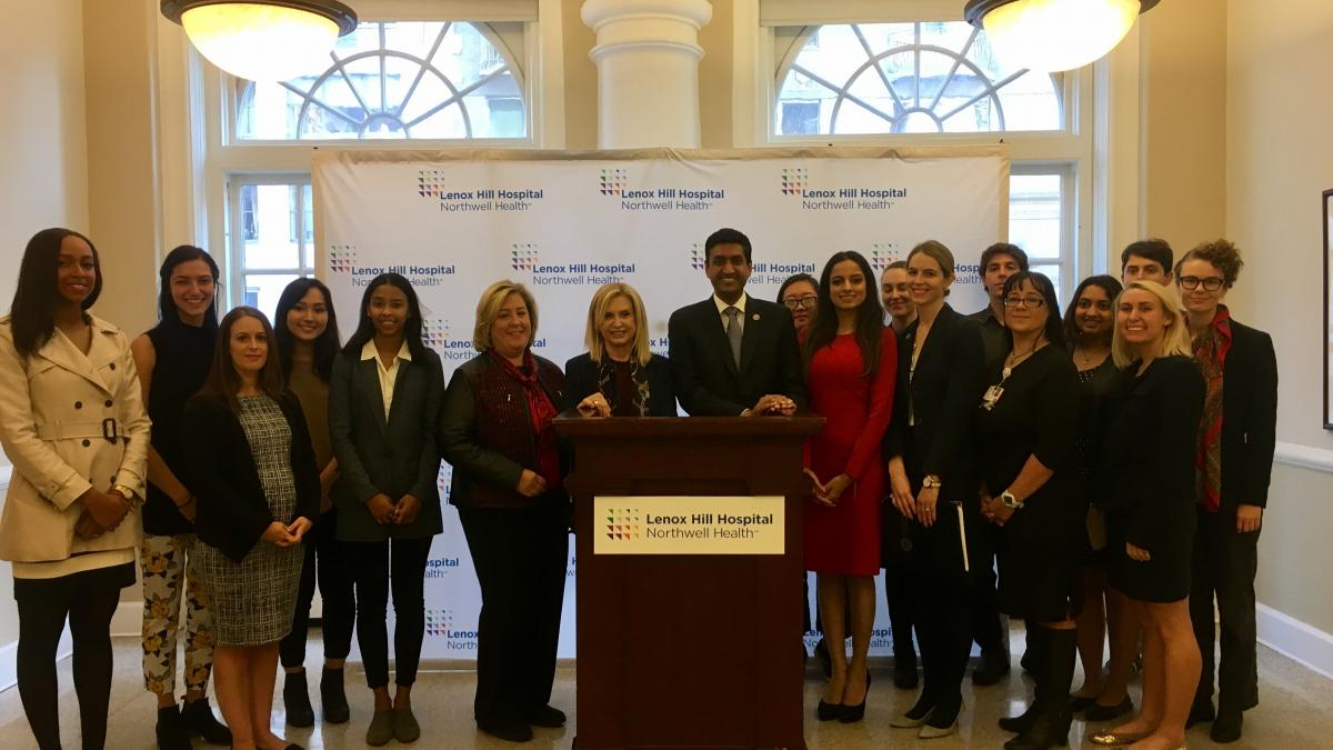 Reps  Maloney and Khanna Join with Students and Advocates to